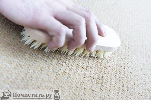 Способы чистки ковра в домашних условиях в зависимости от типа пятен