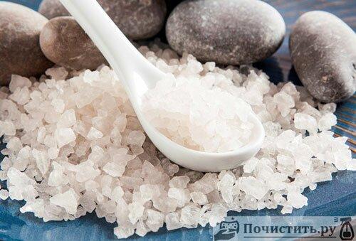 Чистящие свойства соли