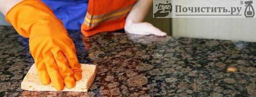 Способы правильной чистки мрамора