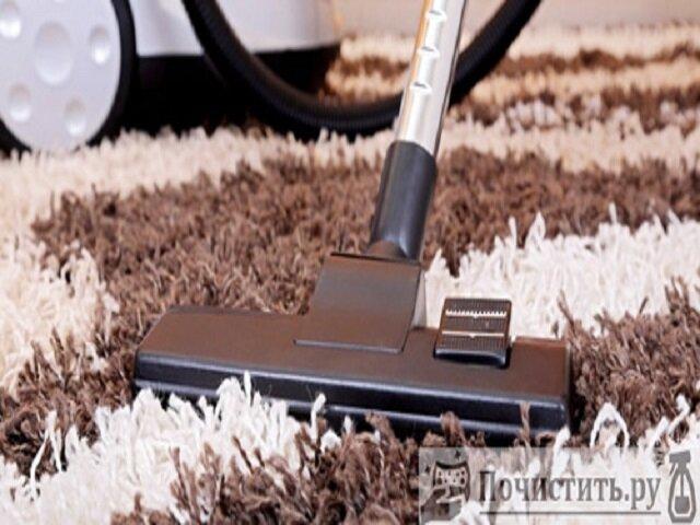 Способы очистки ковролина