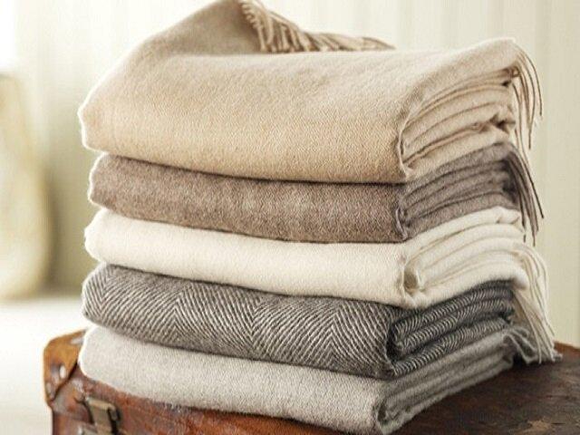 Как стирать шерстяное одеяло или плед
