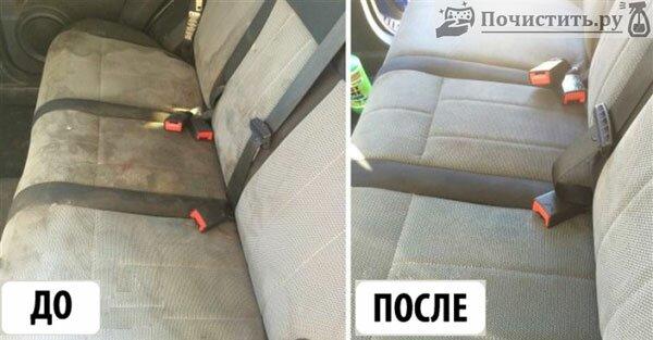 Как и чем можно почистить салон автомобиля?