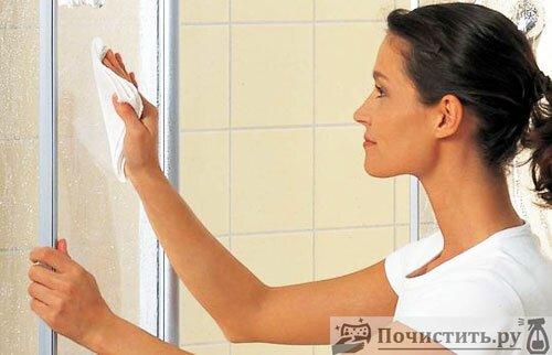 Сложно ли чистить домашнюю душевую кабину