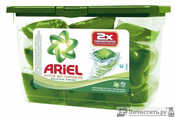 «Ariel Active Gel» (Ариель актив гель)