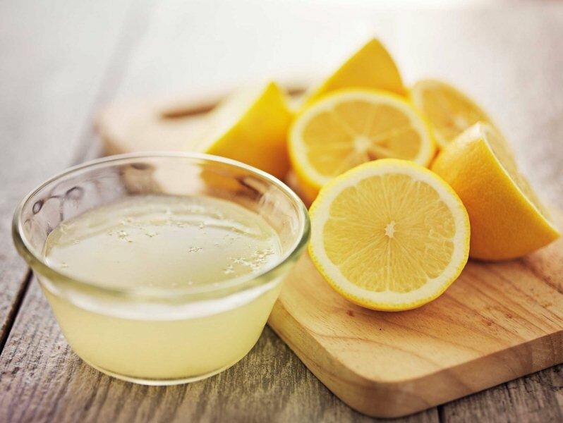 1 столовая ложка лимонной кислоты или 4 столовых ложки лимонного сока