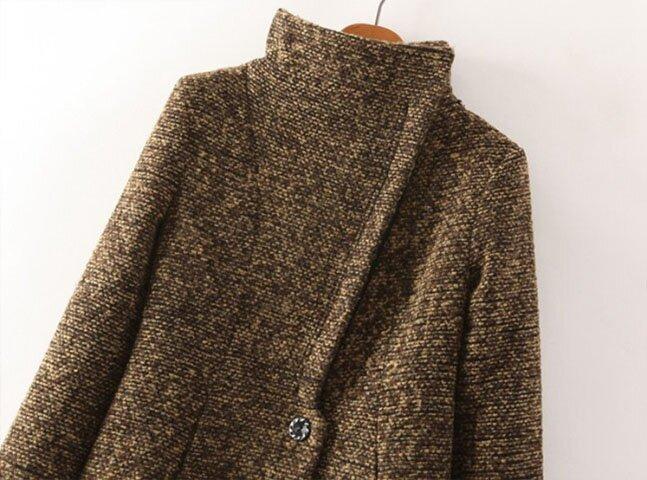 Высушите пальто на плечиках вдали от отопительных приборов.