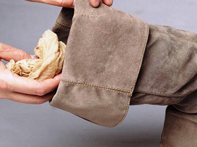 Методы окраски замшевой обуви