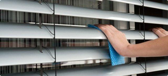 Как почистить пластиковые и алюминиевые жалюзи