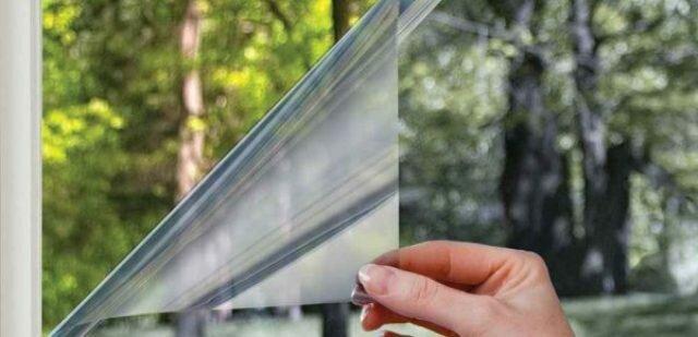 Способы удаления солнцезащитной пленки с окна