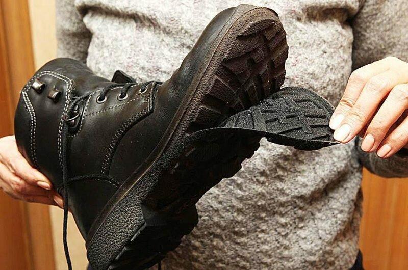 Некачественные материалы туфель или сапог