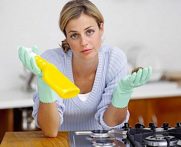 Средства для чистки плиты из эмали и нержавейки – есть ли отличия?