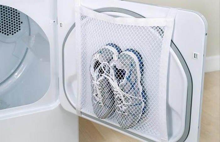 Он значительно снизит риск поломки, уменьшит шум во время стирки, а также убережет обувь от деформации.