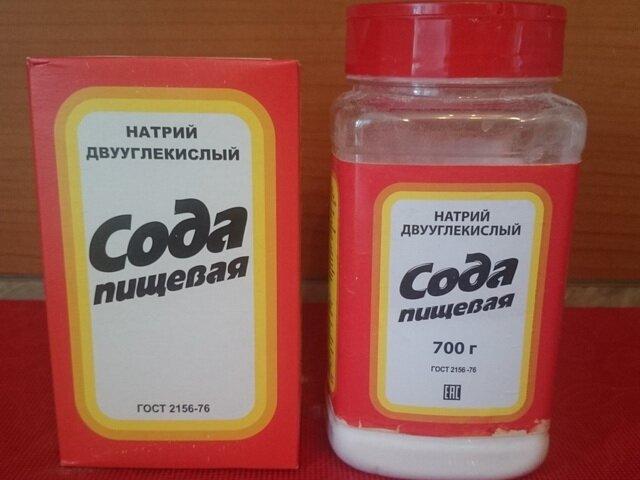 Пищевая сода или тальк