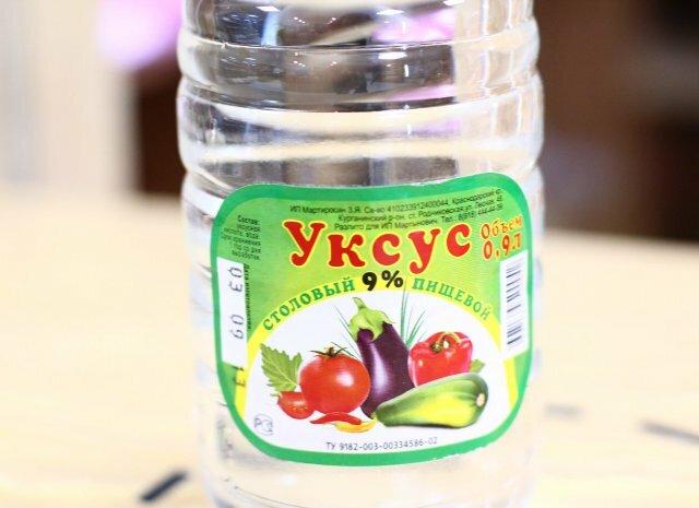Сода и уксус – народное средство с щелочной реакций