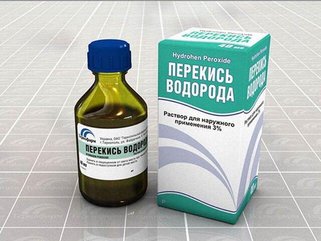 Перекись водорода и таблетки гидроперита
