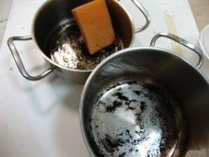 Как очистить посуду из нержавейки