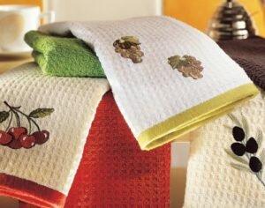 Как стирать вафельные и другие полотенца