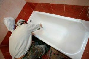 Как почистить старые ванны