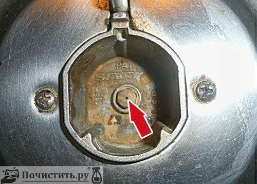 Чем можно почистить газовую конфорку фото