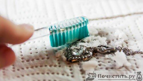 Как почистить топаз