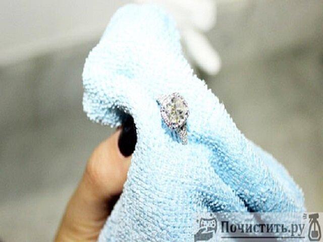 Как почистить бриллианты в домашних условиях фото