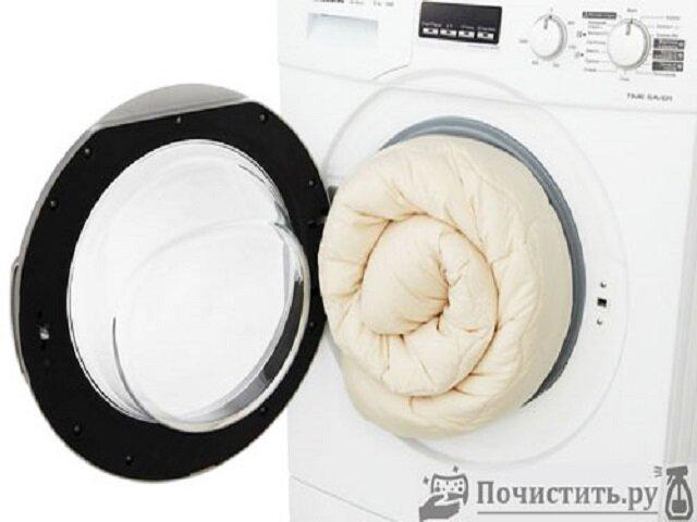 Как стирать объёмные вещи