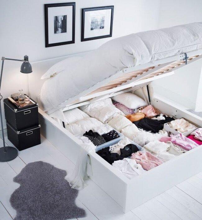 Шкаф под кроватью