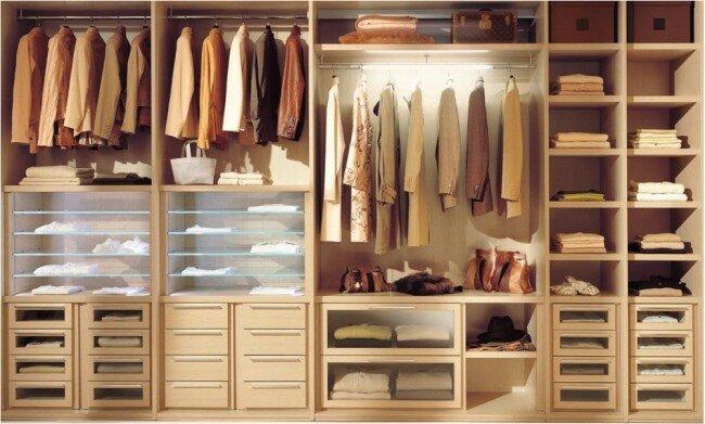 Организация пространства - шкаф-купе