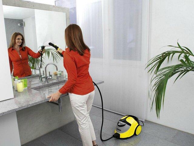 Насадки пароочистителей не только очищают стекло, но и удаляют пленку
