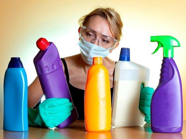 Не используйте хлорсодержащие отбеливатели