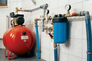 Создание водопровода в помещении с машинкой